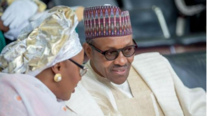 AISHA & PRESIDENT BUHARI - A PRIVATE MOMENT