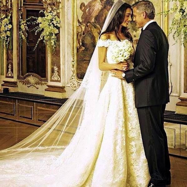 AMAL & GEORGE, WEDDING PHOTO