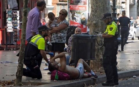 BACELONA TERRORIST ATTACK#1