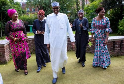 BUHARI IS BACK IN NIGERIA#1