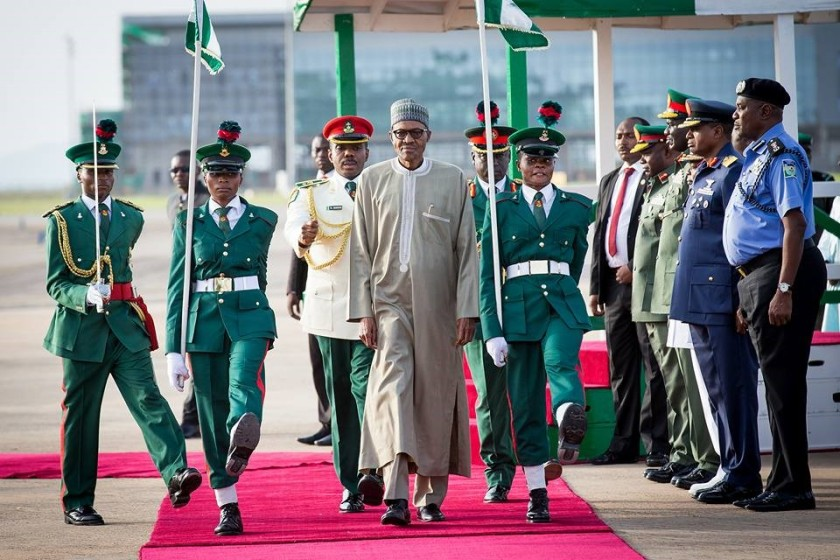 PRESIDENT BUHARI IS BACK#1