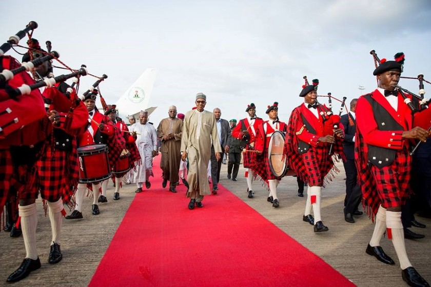 PRESIDENT BUHARI IS BACK#3