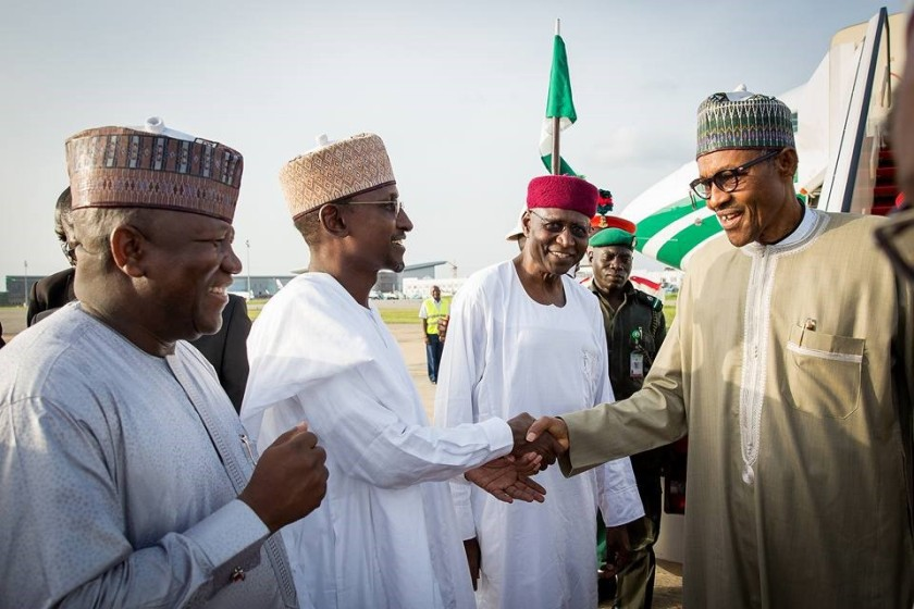 PRESIDENT BUHARI IS BACK#4