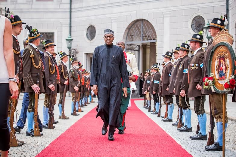 PRESIDENT BUHARI IS BACK#5