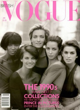 VOGUE MAGAZINE 1990S COLLECTIONS