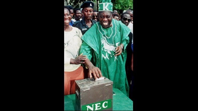 ABIOLA AT THE POLLS