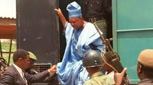 ABIOLA BEING TAKEN TO JAIL