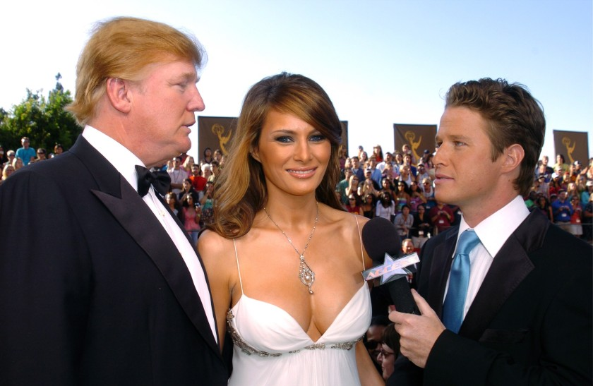 BILLY BUSH AND DONALD TRUMP AND MELANIA#4jpg