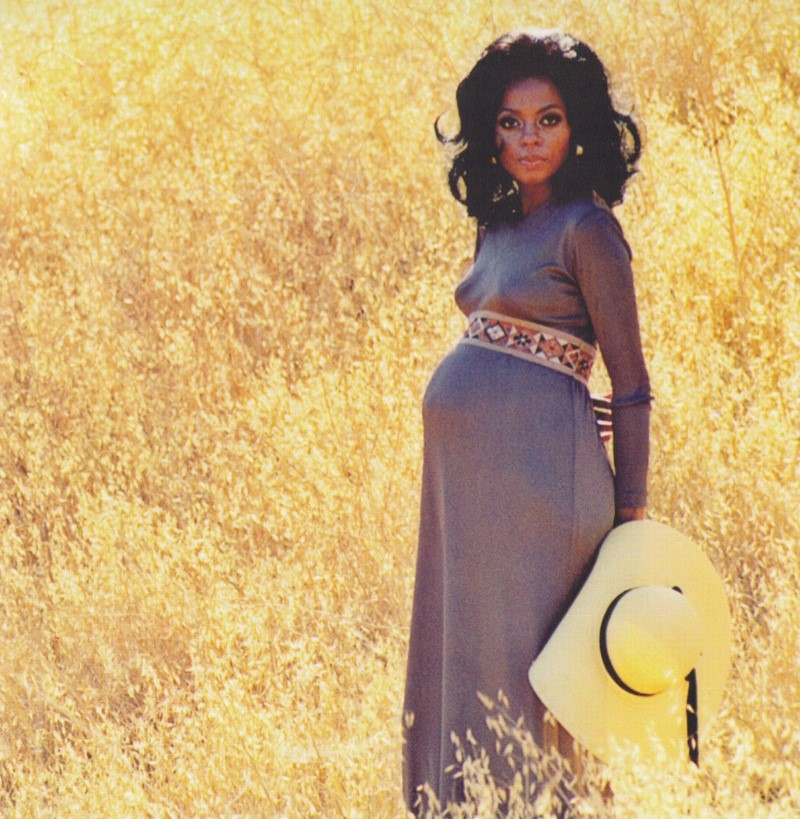 DIANA ROSS, PREGNANT IN THE 70S