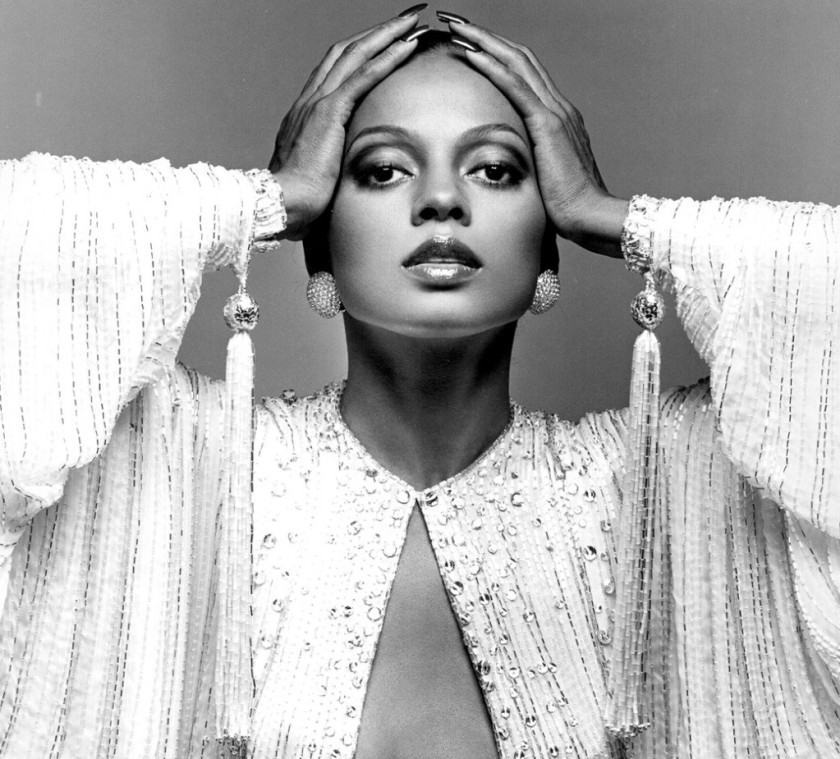 DIANA ROSS` VINTAGE PHOTO