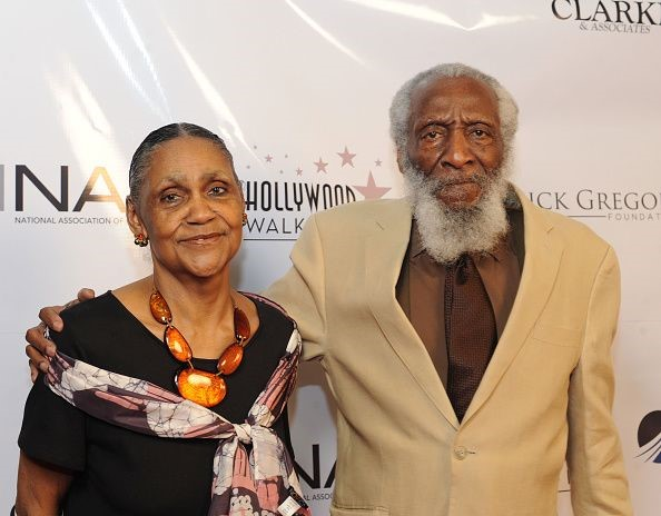 DICK GREGORY AND HIS WIFE LILLIAN GREGORYjpg
