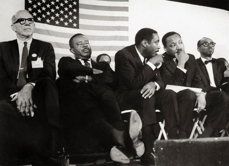DICK GREGORY AND MARTIN LUTHER KING JR.