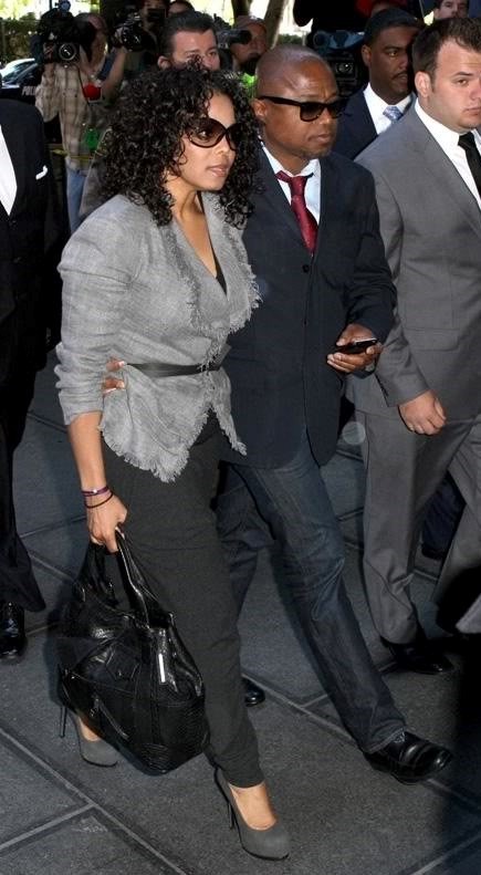JANET & RANDY WALKING HAND IN HAND