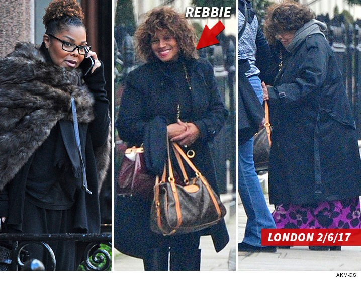 JANET, REBBIE & KATHERINE IN LONDON