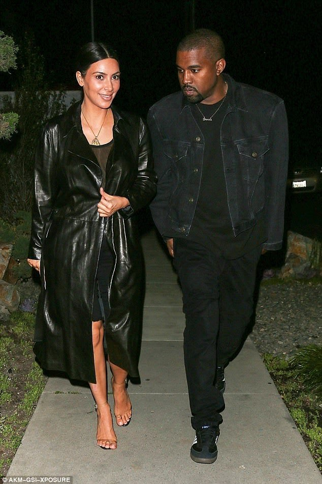 KANYE WEST & KIM KARDASHIAN AFTER DINNER#3
