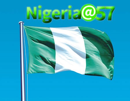NIGERIA @ 57 YEARS OF AGE