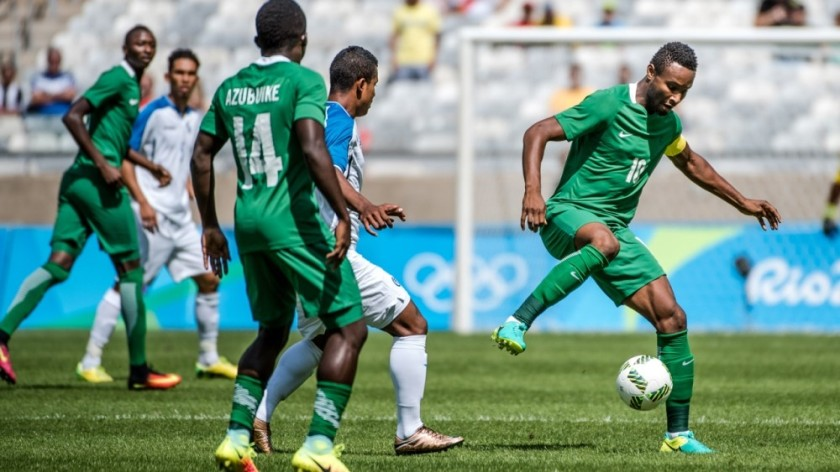 NIGERIAN EAGLES IN ACTION