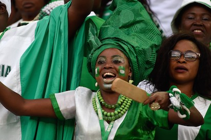 NIGERIANS , JUBILANTLY CELEBRATING INDEPENDENCE DAY AND HOPEFUL OF A BETTER FUTURE