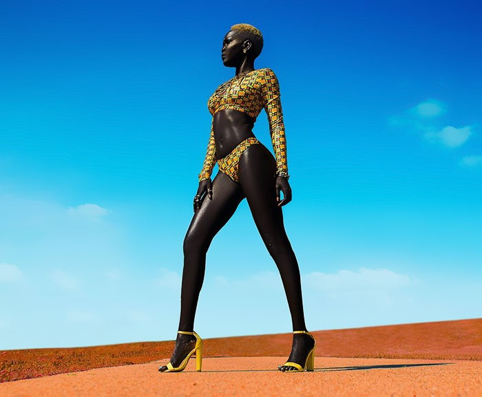 SKINNY AFRICAN MODELS.#2jpg