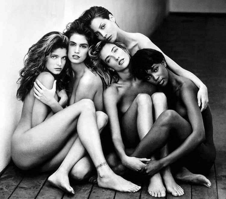 SKINNY MODELS.BLACK & WHITE#2jpg