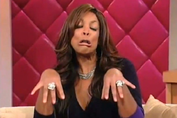 WENDY WILLIAMS DOING HER 'HOW YOU DOING'#1