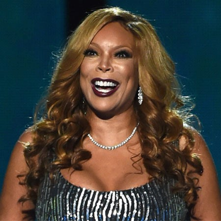 WENDY WILLIAMS IN BLACK LIPSTICK
