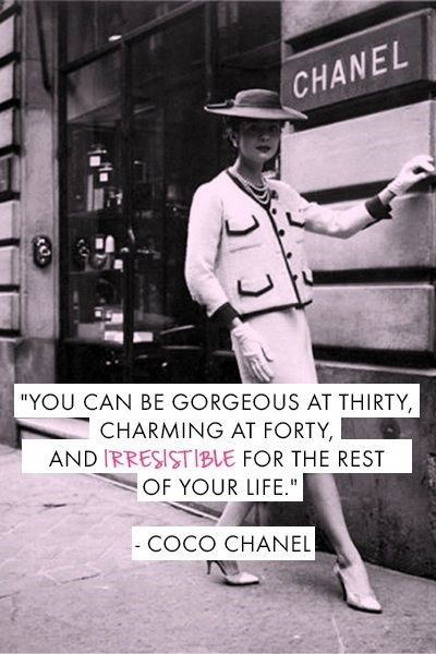 CHANEL COCO CHANEL QUOTES