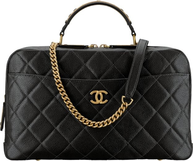 CHANEL FALL WINTER 2018 PARIS CAVIR BAG COLLECTION #3
