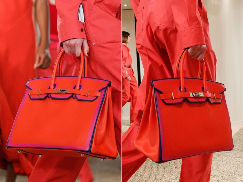 HERMES RED RESORT 2018 RUNWAY BIRKIN BAG