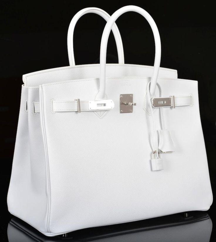 HERMES WHITE SS18 BIRKIN BAG